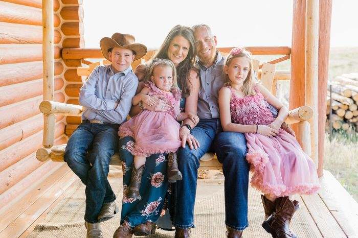 Laramie Wyoming Family portraits by Megan Lee Photography based in Laramie Wyoming.